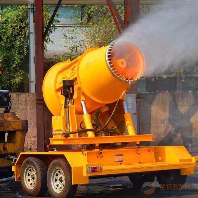 大冶风送式雾炮机环保无污染设备