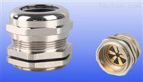 黄铜镀镍屏蔽电缆防水接头,EMC金属填料函