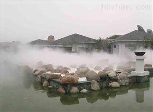 人工湖喷雾造景设备