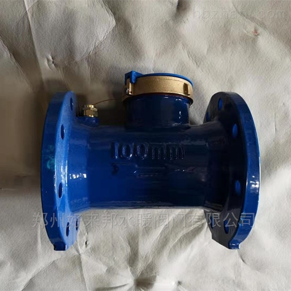 埃美柯014水平螺翼式液封铁壳冷水表