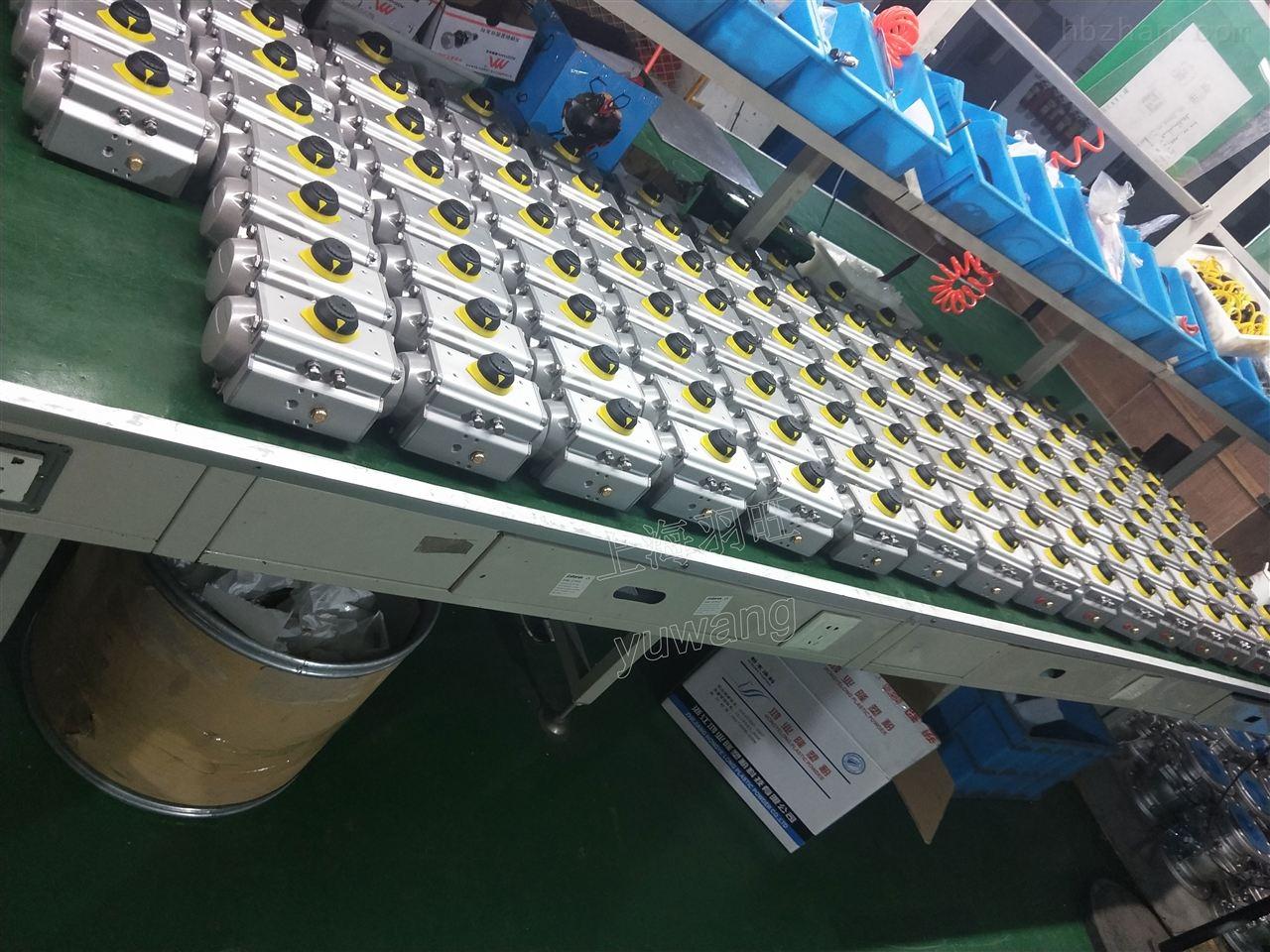 AT气动执行器气动头铝合金双作用单作用