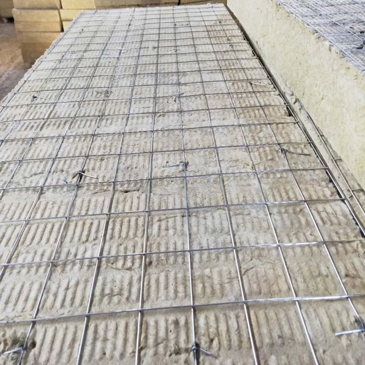 1200*600供应优质双面钢网插丝岩棉板
