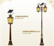 天津庭院灯厂家直销-3到5米太阳能景观灯