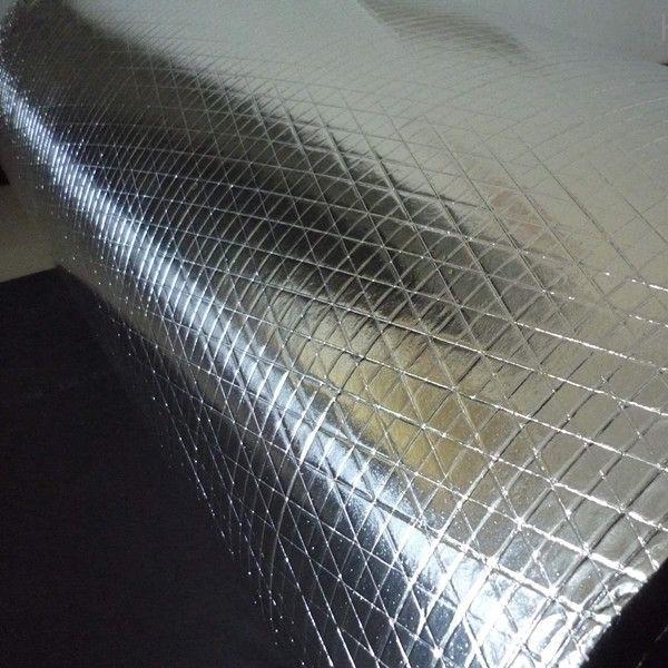 阻燃夹筋铝箔橡塑保温棉板价格低生产厂家