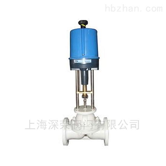 电动隔膜调节阀