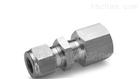 YZG1-7卡套压力表直通穿板接头 卡套接头