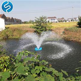 漂浮式安装喷泉曝气机