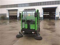 工地清扫灰尘沙石用电动驾驶式扫地车