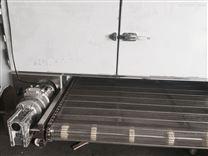 高温炉网带输送机铝锅烘干生产线