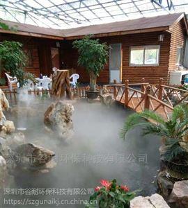 高档住宅小区喷雾造景系统