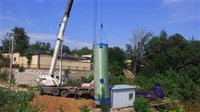 鄉鎮智能地埋式雨水一體化預製泵站