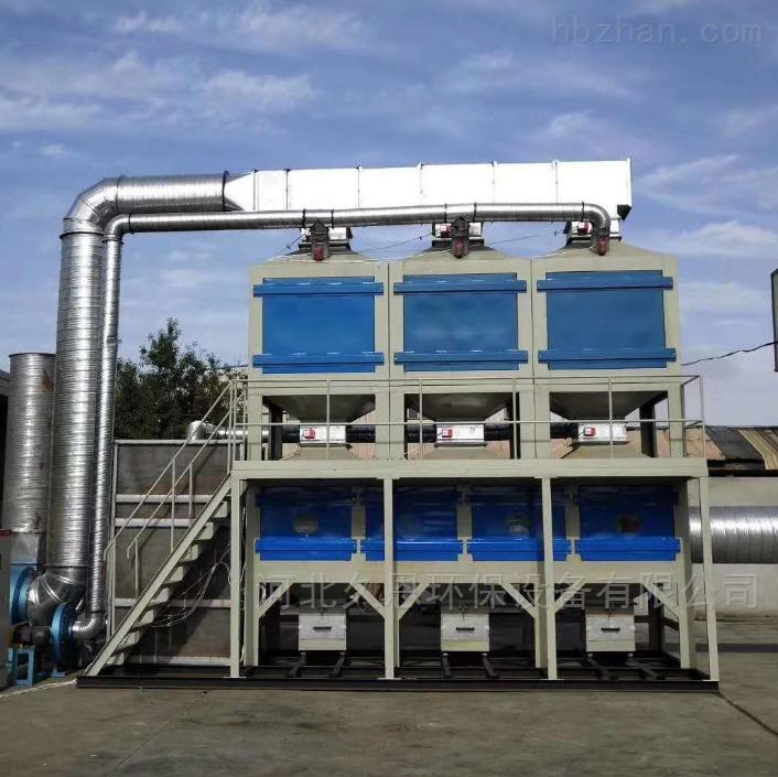 废气处理设备RCO催化燃烧装置工艺流程