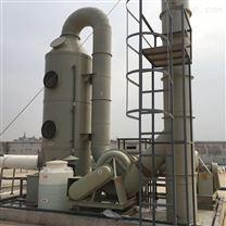 长德环保旋流板喷淋塔的工作原理及性能特点
