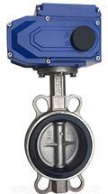 D971X不锈钢电动对夹蝶阀