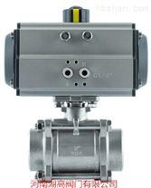 Q661F氣動三片式焊接球閥
