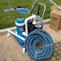 游泳池吸污机设备 手动吸污车清洁机