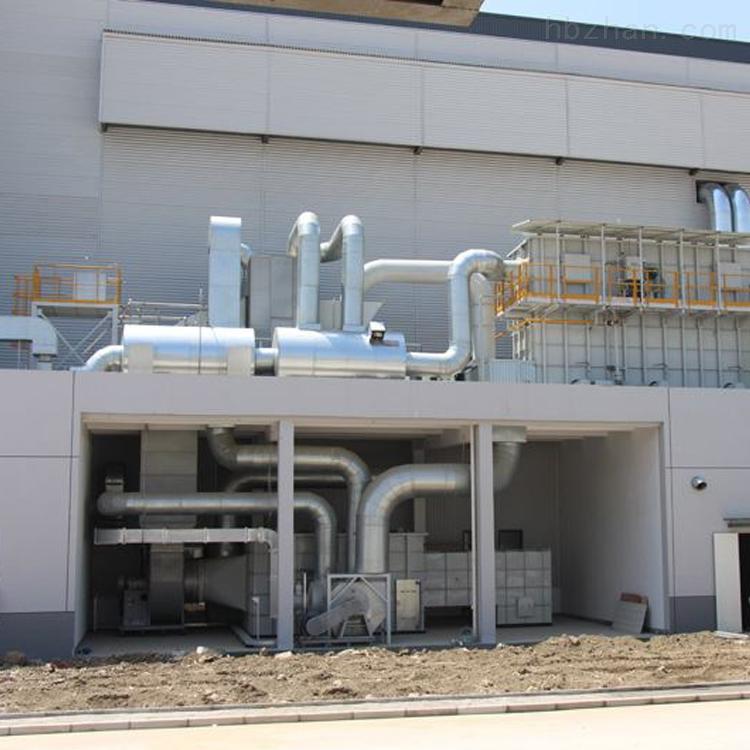 喷漆场房催化燃烧废气处理设备