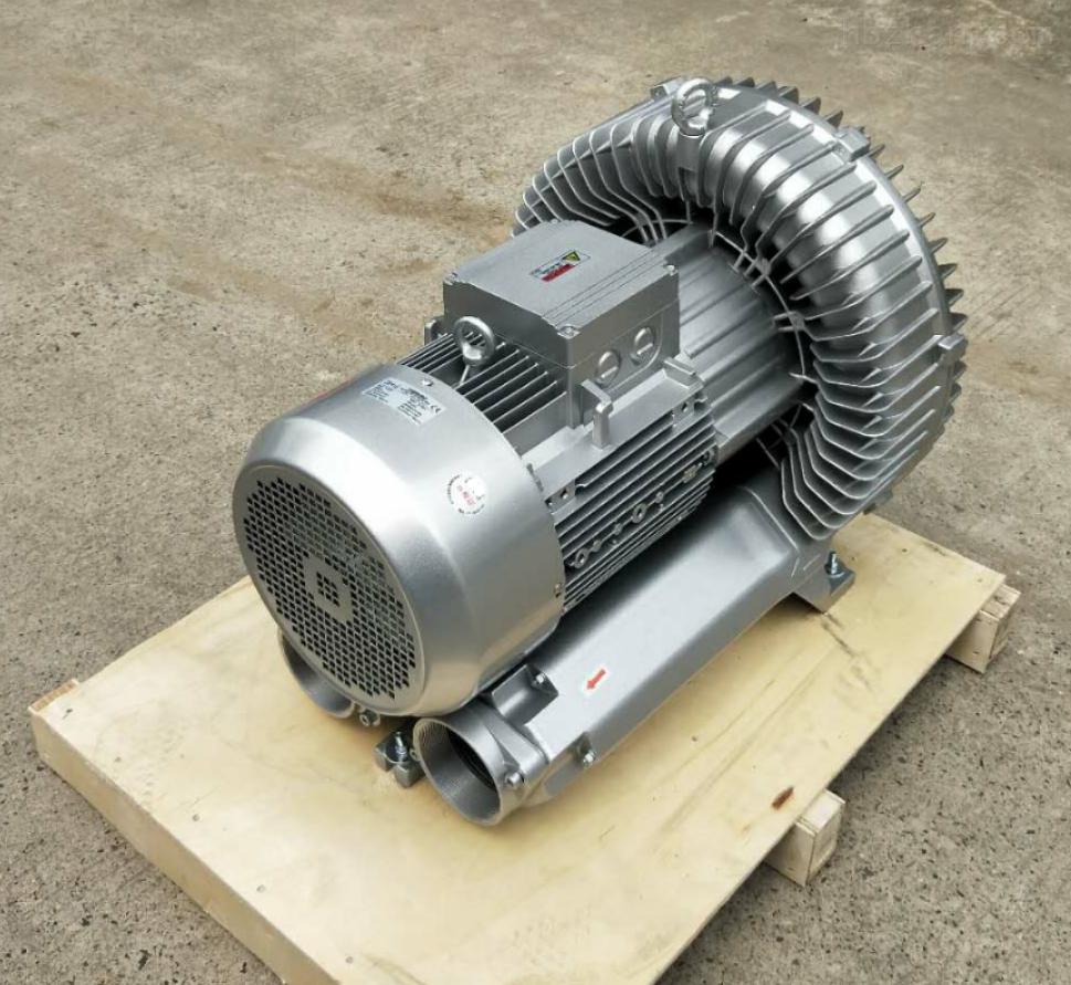 低噪音高压风机1.6kw曝气吸附高压旋涡气泵