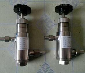 可调式螺纹槽道减压阀GF8 4-32MPA