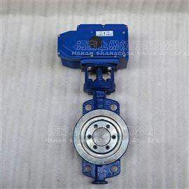 D973H-16C电动对夹式硬密封蝶阀