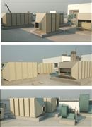 JYHXTX001废气处理活性炭吸附箱, 风阻小吸附率高