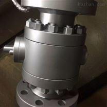 Q41H鍛鋼三片式硬密封球閥