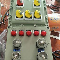 防爆动力检修电源插座箱BXX-4/25K带总开关