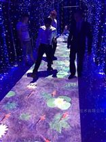 菲格朗-湖南商场地面互动投影