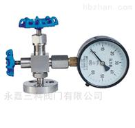 J49W不锈钢压力表針型閥