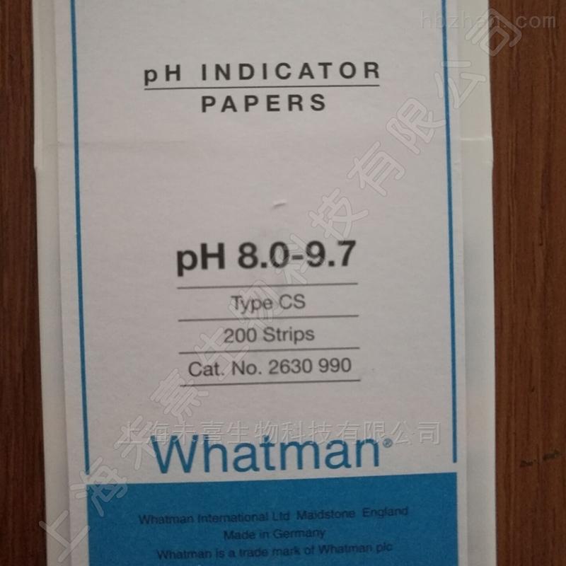 英国whatman PH试纸 测试范围8.0-9.7