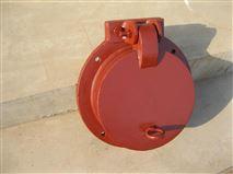 平板铸铁拍门质量 dn800复合材料拍门的结构