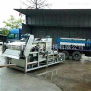 带式压滤机应用污泥机械脱水设备