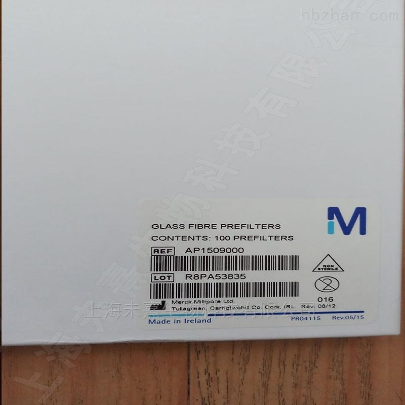 密理博 含黏合性树脂玻璃纤维滤膜90mm直径
