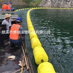 300*1000水电站垃圾倒流浮排