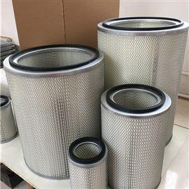 齊全水沖洗325*1500煙塵凈化器覆膜除塵濾芯