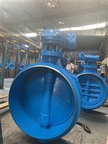 對焊式三偏心蝶閥上海生產廠家
