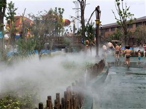 休闲公园景观造雾设备|冷雾设计/工程 案例
