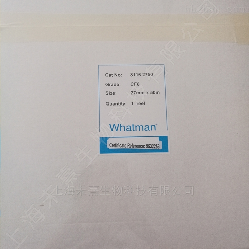 GE whatman CF6吸收垫27mm*50m