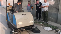 灰尘沙石用多功能扫地机DJ1800A扫地车