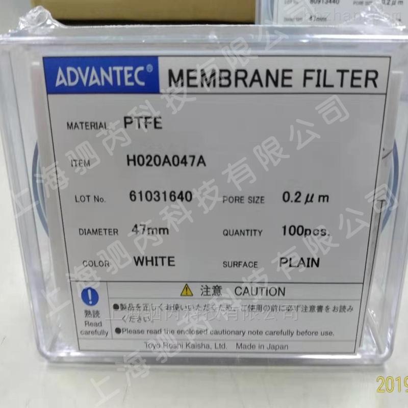 ADVANTEC东洋孔径0.2um亲水PTFE膜