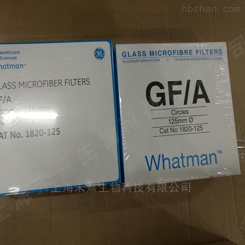 沃特曼GF/A 1.6um*125mm玻璃纤维滤纸