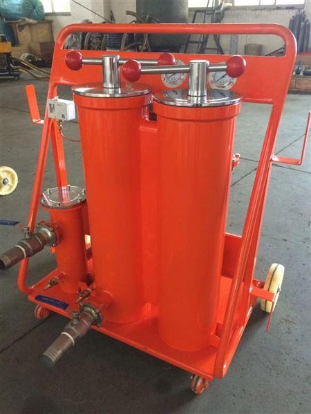 精度可达NAS6级便携式滤油机