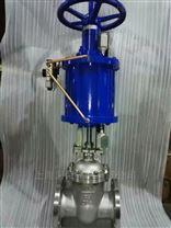 Z641H氣動法蘭閘閥