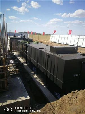 RC河南生活污水处理设备排放标准