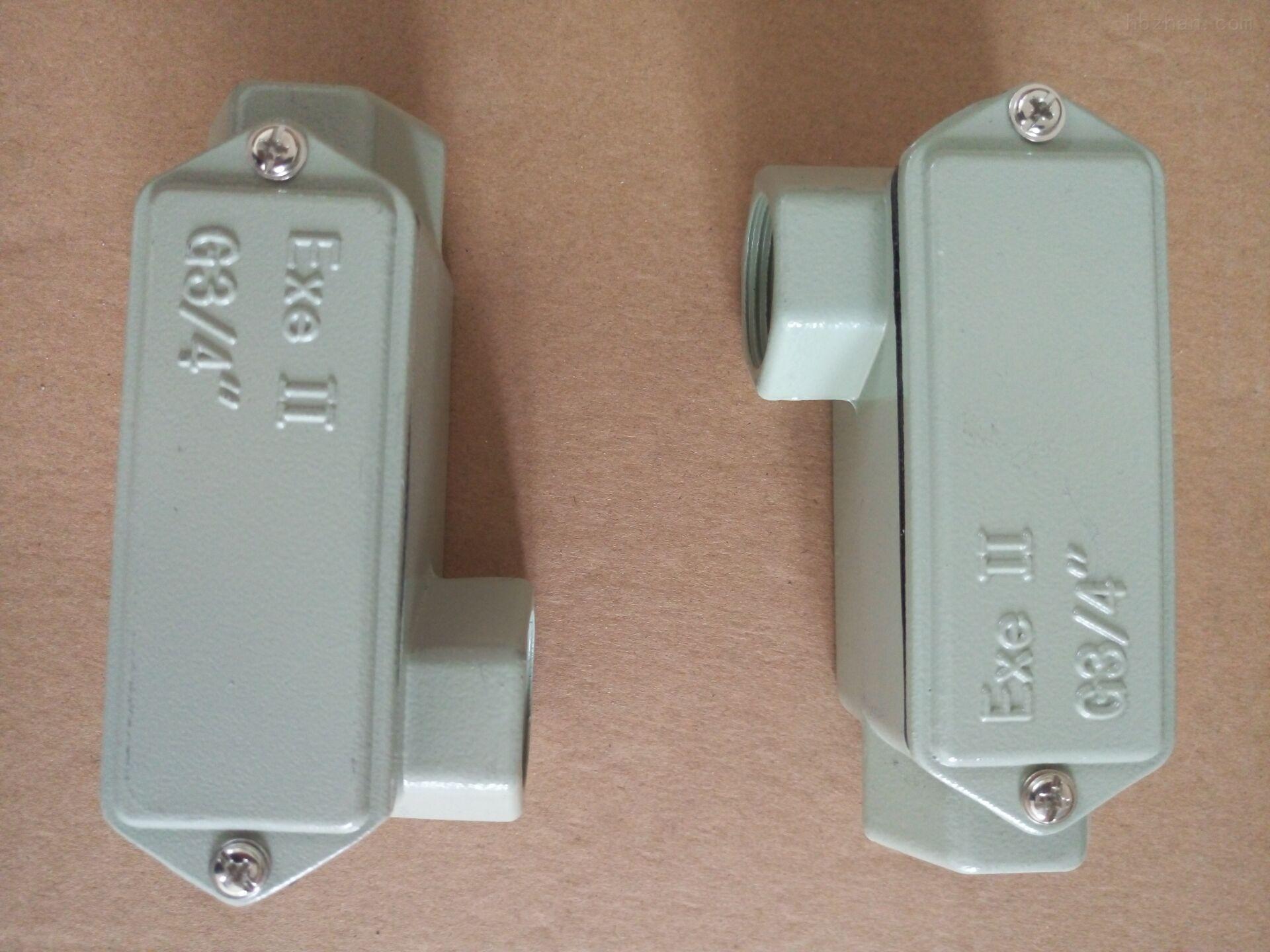 G 3/4铝合金直通穿线盒