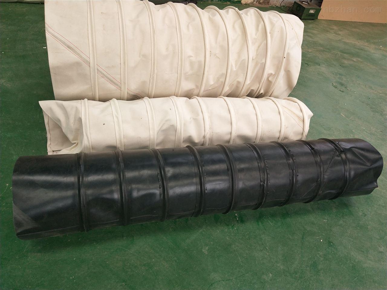 水泥厂耐磨吊环式帆布布袋供应