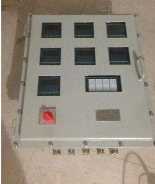 一控一盲板阀防爆控制箱