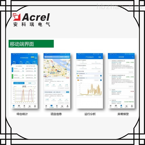 郴州市产治污设备配用电监测与管理方案
