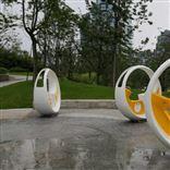 脚踏车喷泉