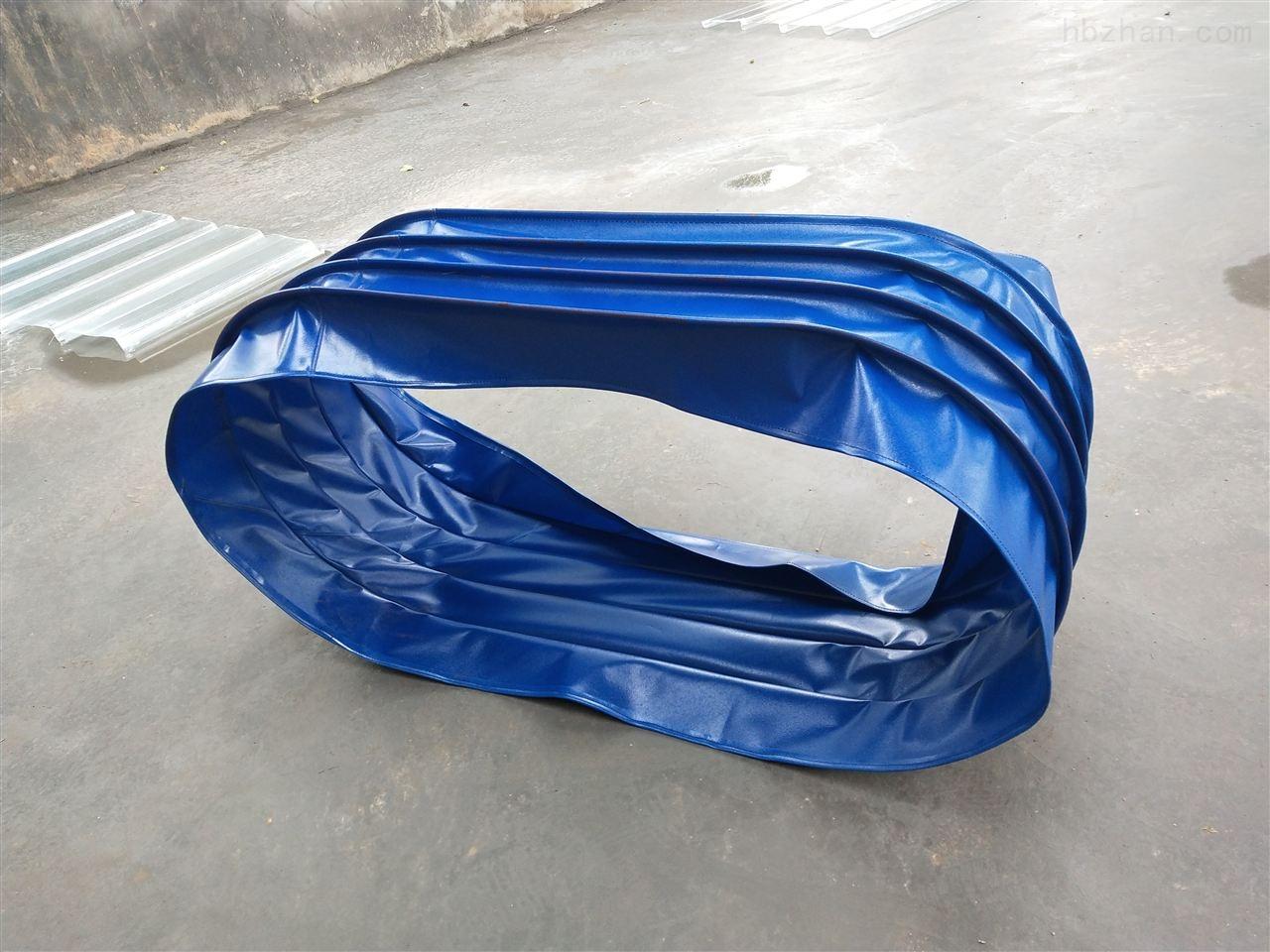帆布伸缩式阻燃除尘软连接